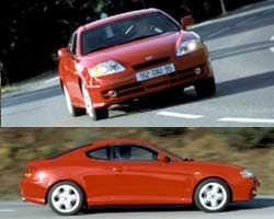 Provkörning av Hyundai Coupé V6
