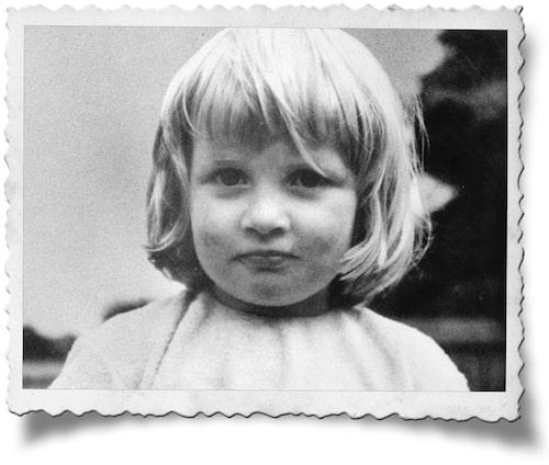 Diana, 3 år.