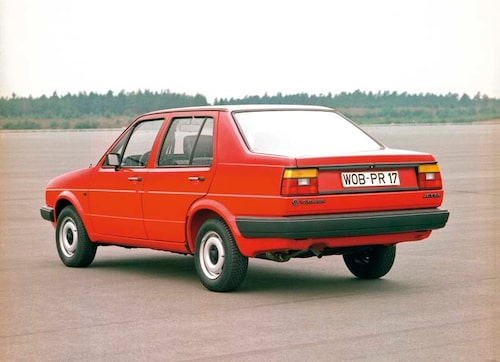 VW Jetta. 1986.