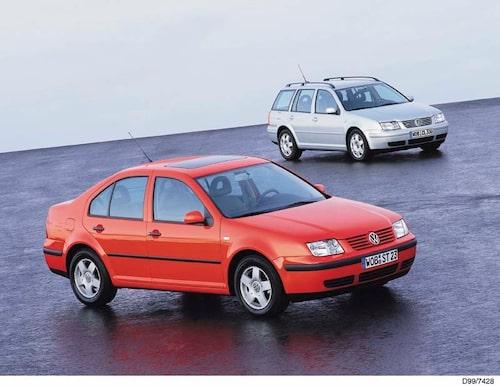 VW Bora och Bora Variant. 1999.