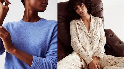 Loungewear i kashmir och mysigt pyjamasset.