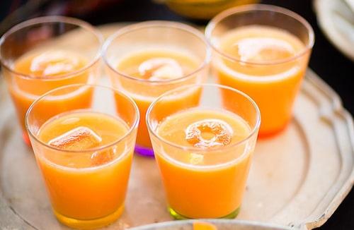 Recept på Autumn passion - ljuvlig drink på rom och cointreau