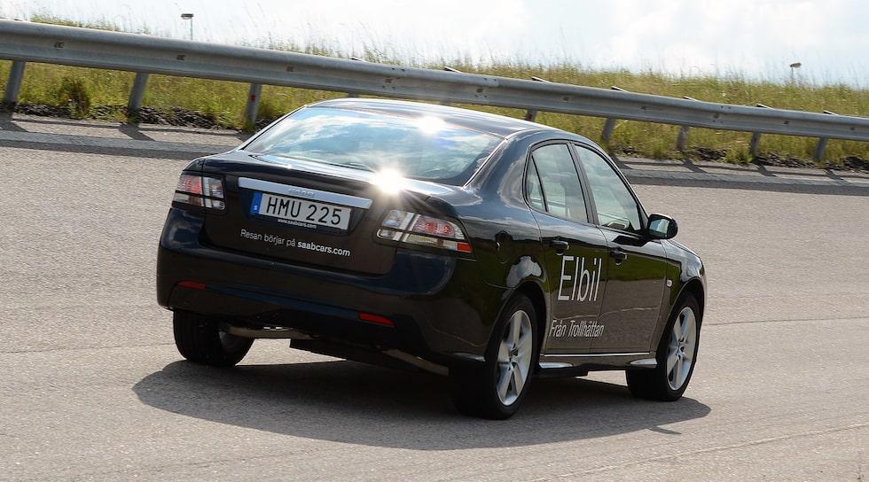 Saab 9-3 elbil
