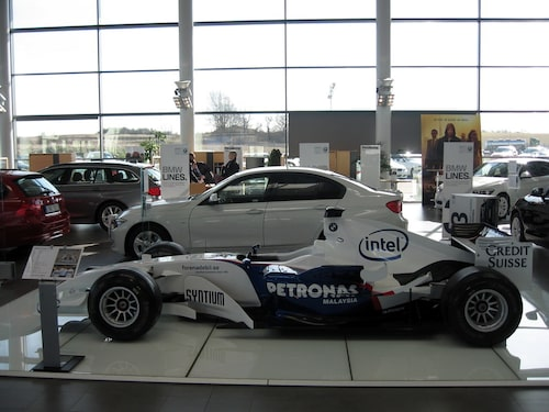 BMW Sauber F1.06 Formel 1-bil på Blocket