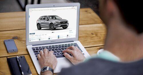 Volvo tar nu nästa steg i bilbranschens utveckling på Internet.