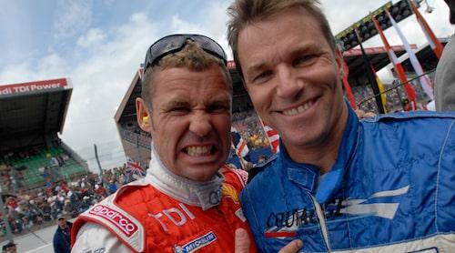 Stefan och Tom Kristensen på Le Mans 2007. Foto: Joakim Andersson