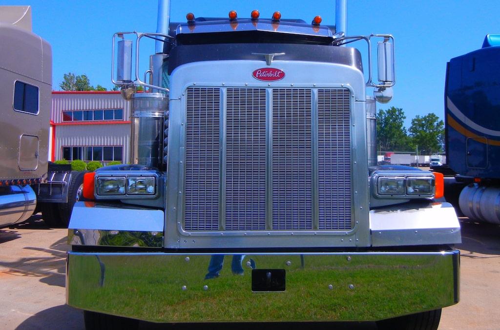 Lastbilen på bilden är inte samma som i artikeln