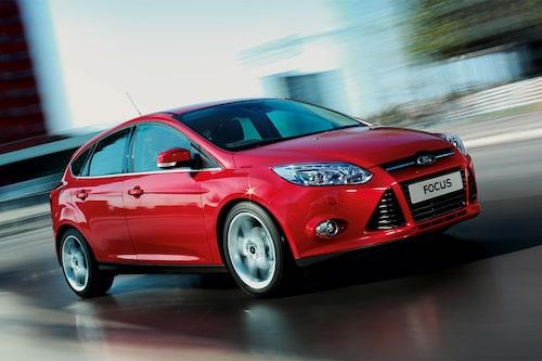 Plats 6: Ford Focus, 241 862 exemplar. Minus 14,7 procent jämfört med 2011.