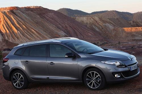 Plats 9: Renault Megane, 199 167 exemplar. Minus 17,5 procent jämfört med 2011.