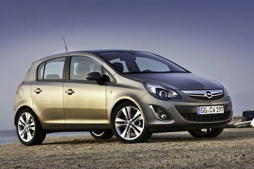 Plats 4: Opel/Vauxhall Corsa, 265 297 exemplar. Minus 16,1 procent jämfört med 2011.