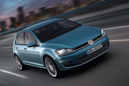 Plats 1: Volkswagen Golf, 431 742 exemplar. Minus 11,1 procent jämfört med 2011.