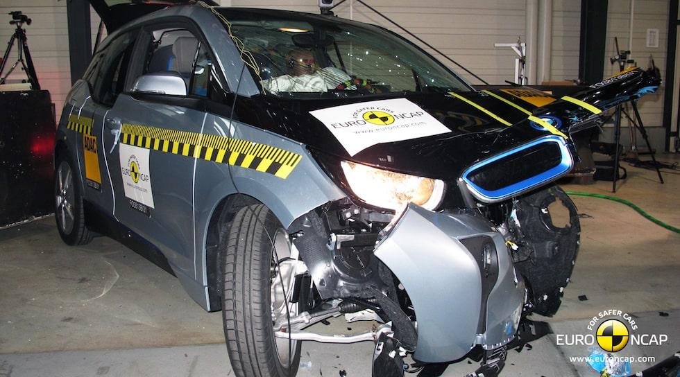BMW i3 Euro NCAP krocktest