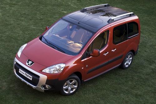 Peugeot Partner Kombi, eller Tepee som den heter på vissa andra marknader.