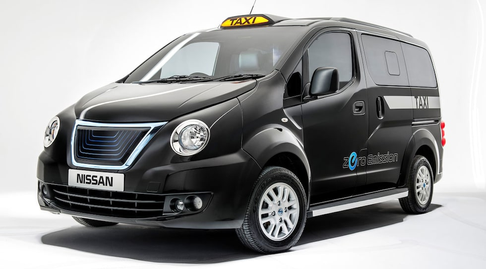 Nissan NV200 London-taxi