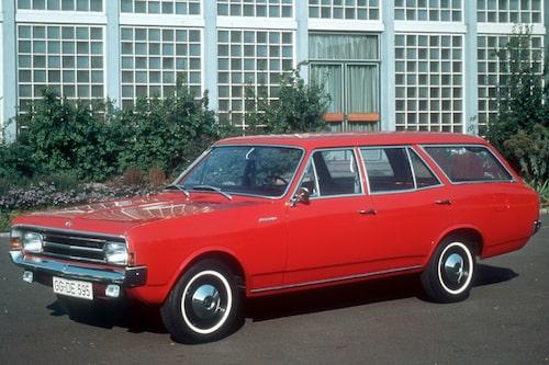 Opel Rekord Caravan, som Mikael Stjerna refererar till.