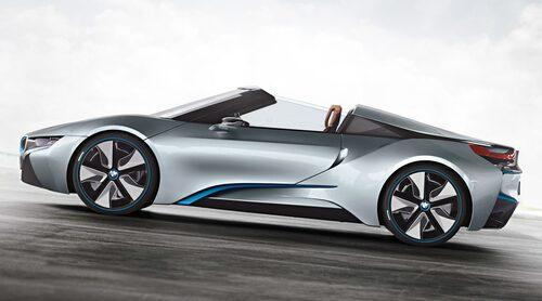 Det var några år sedan BMW i8 Spyder visades upp som konceptbil, men snart är det skarpt läge.