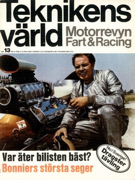 Teknikens Värld nummer 13 / 1968