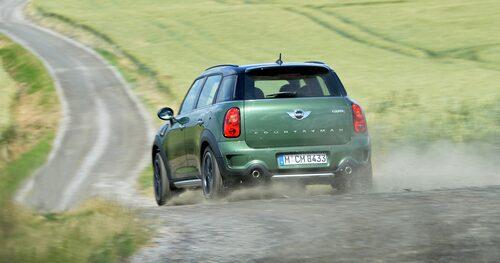 Minis All4-system fungerar på samma sätt som BMW:s xDrive-fyrhjulsdrift.