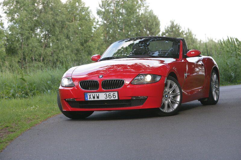 Provkörning av BMW Z4 2,5si