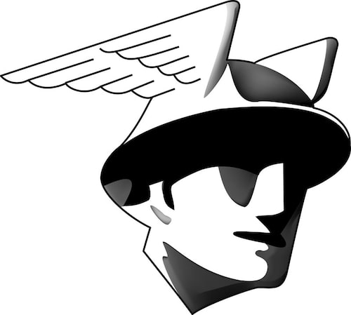 Mercury logo 1941-1958