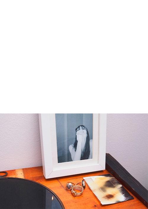 """""""Ett foto taget av min pojkvän."""""""