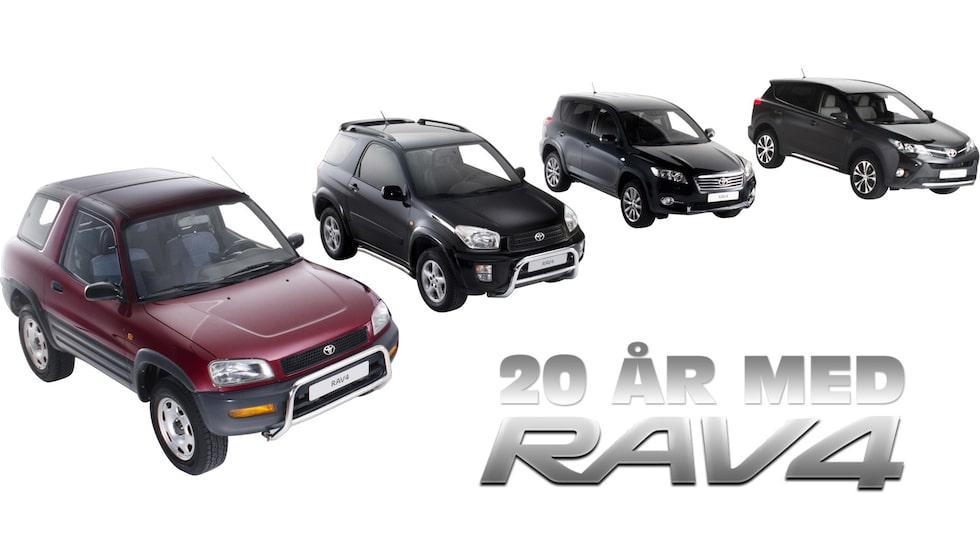 Toyota RAV4 1994-2014