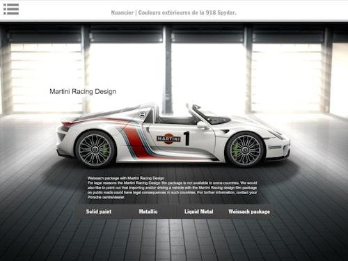 Porsche 918 Spyder, läckt broschyrbild.