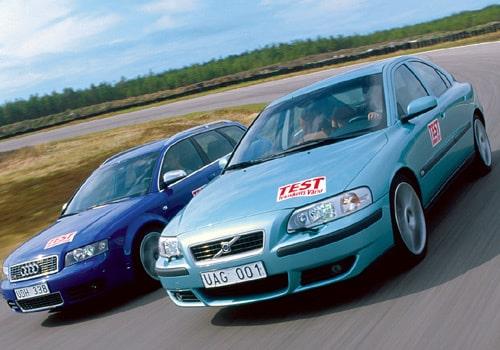 Audi S4 och Volvo S60R