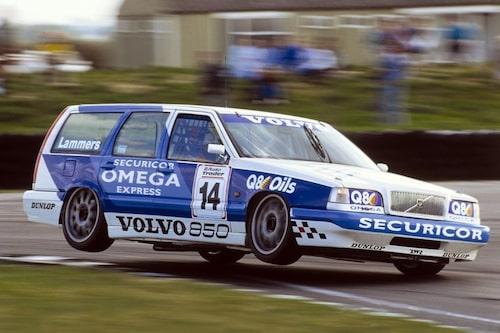 Volvo var först, här BTCC 1994.