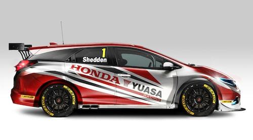 För ett tag sedan gjorde även Honda kombidebut i BTCC. Nu är det alltså Subarus tur.