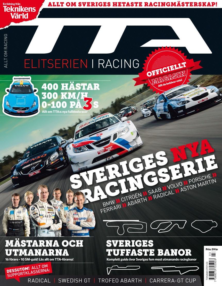TTA – Elitserien i Racing 2012