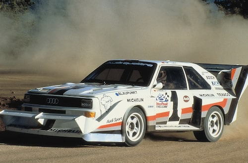 Segern 1987 blir den tredje i rad för Audi i den klassiska backtävlingen.