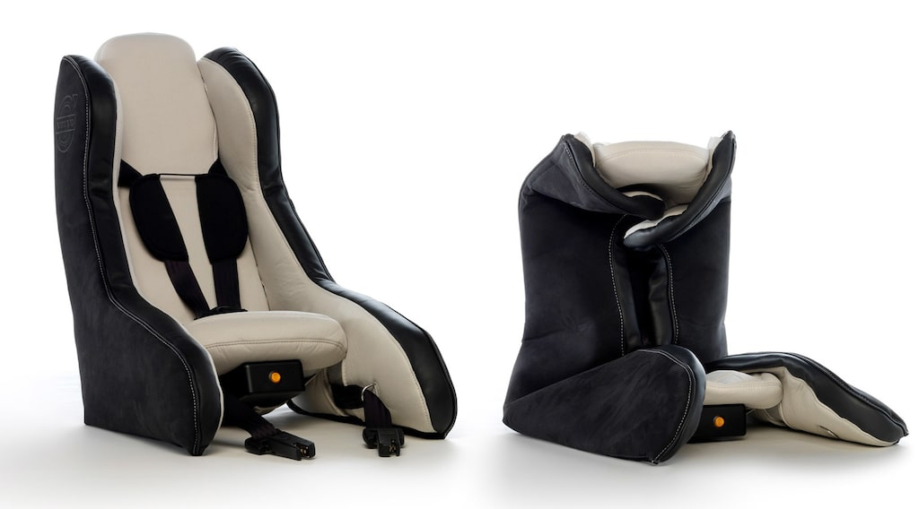 Uppblåsbar bilbarnstol från Volvo