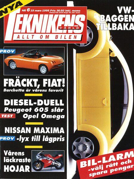Teknikens Värld nummer 6 / 1995