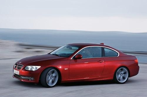 Så här ser en BMW E92 ut i originalutförande.