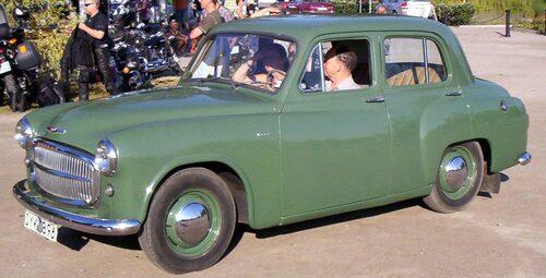 Hillman Minx Mk VIII 1955.