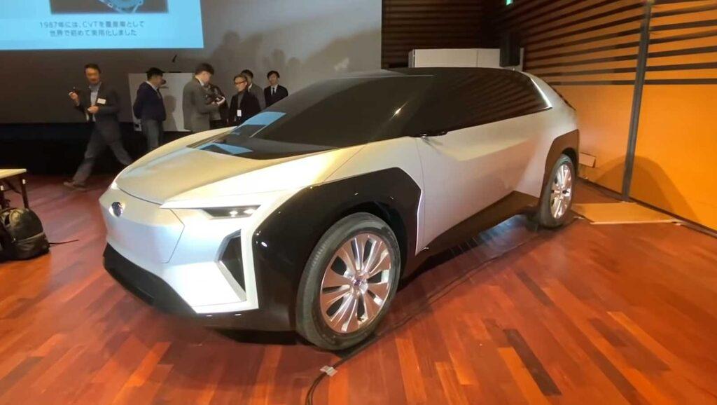Subaru Crossover Electric Concept presenterades under ett mindre evenemang i Japan i början av året.