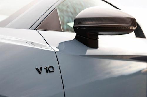 V10 är enda melodin för R8, och vilken symfoni det är! Effektfull är den också med sina 620 hk.
