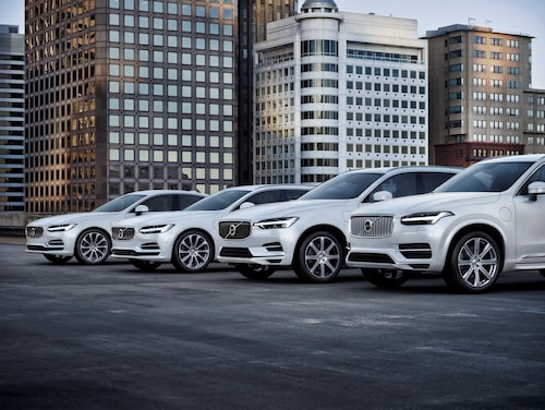 Volvos T8 Twin Engine-drivlina finns i S90, V90, XC60 och XC90.
