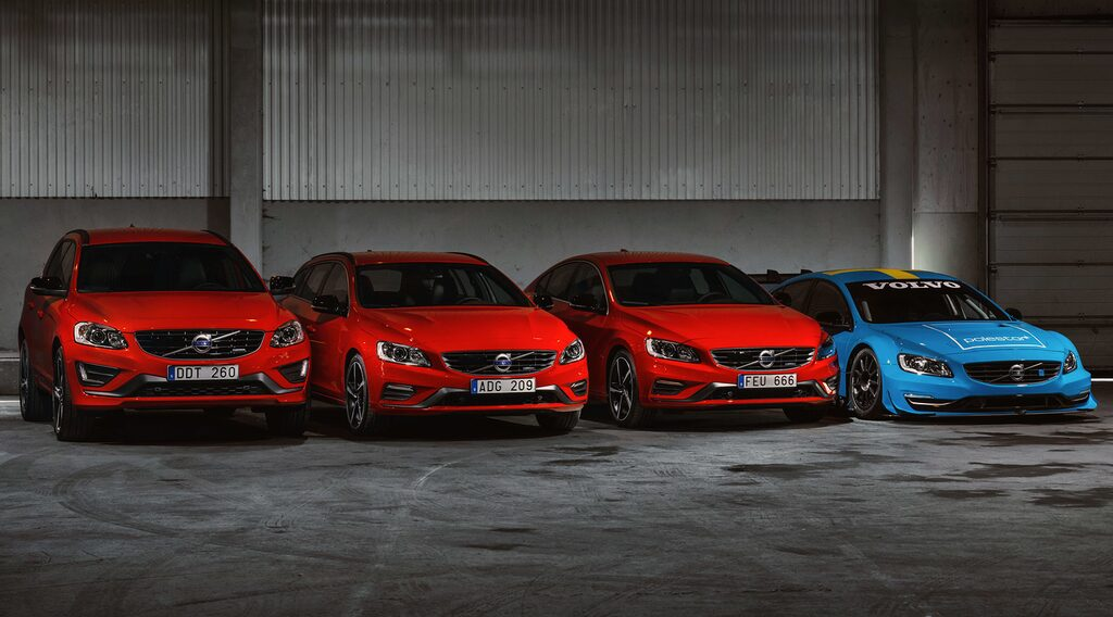 Volvo S60, V60, XC60 Black R 2014