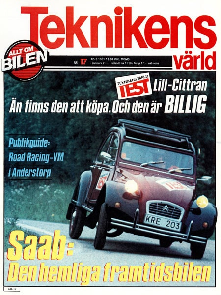 Teknikens Värld nummer 17 / 1981