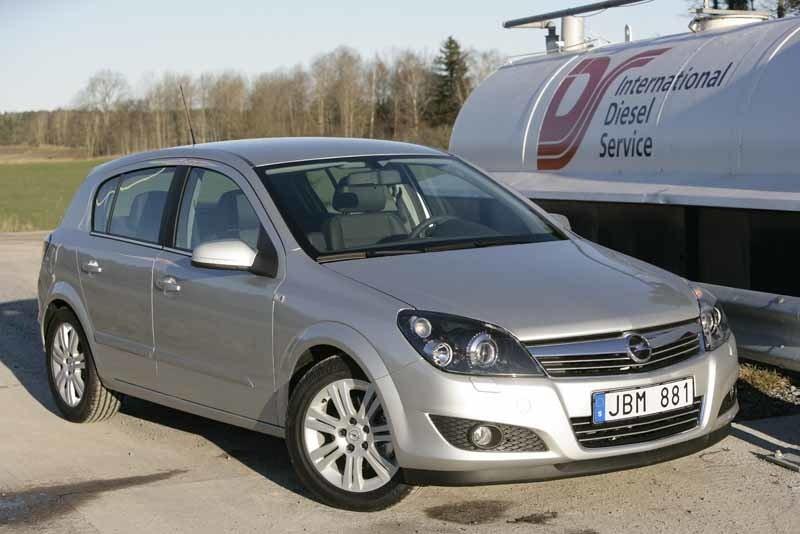 Provkörning av Opel Astra 1,7 CDTI Ecoflex