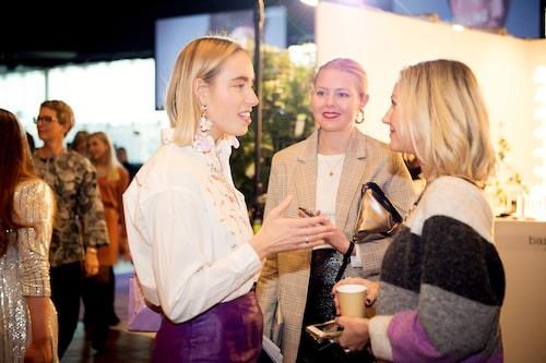 Nyfikna gäster fick möjlighet att prata med våra influencers och modeprofiler på plats.
