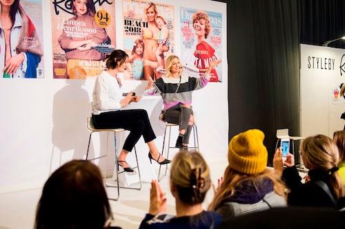 mama-bloggaren Vanja Wikström inspirerade till hur du skapar dig din egen drömvardag och intervjuades på scen av chefredaktör Lollo Bratt Tidmarsh.