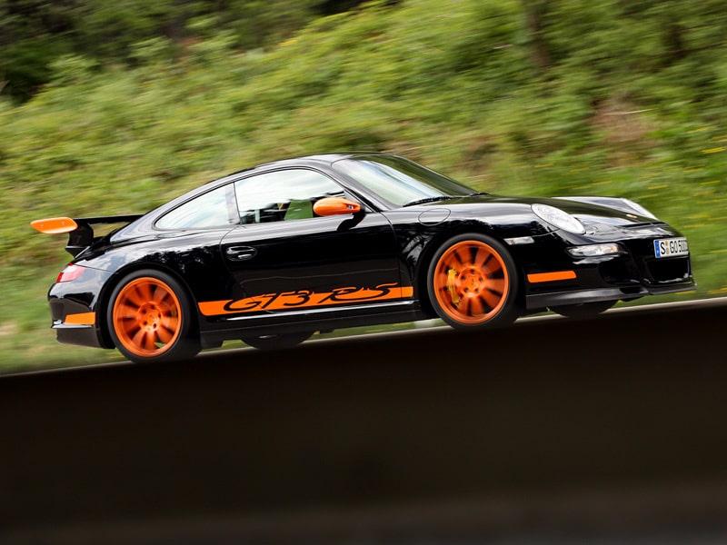 Provkörning av Porsche 911 GT3 RS