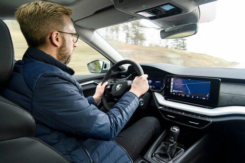 Liksom nya Golf byggs nya Octavia på samma MQB-teknik som den föregående generationen och det betyder att köregenskaperna är i stort sett oförändrade.