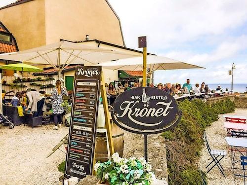 Café Krönet öppnar ny sangriabar i sommar.