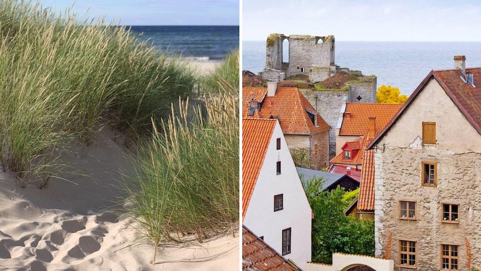 Bad, mat, fest och kultur lockar på Gotland.