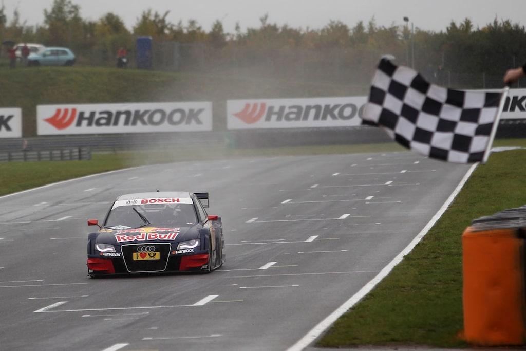 Mattias Ekström seger DTM