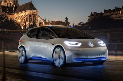 Så här ser konceptbilen ut, den visades för första gången 2016.